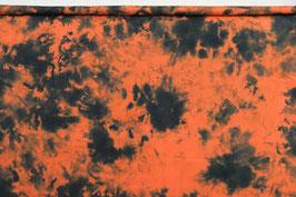 Batik, orange/schwarz, PW