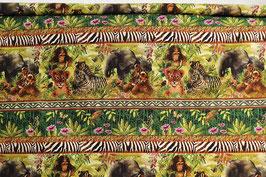 Afrikanische Tierbabys, Streifen, PW