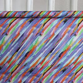 Diagonale Streifen, abstrakt, lilabunt