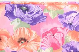 Riesenmohn/Anemonen in lila/pink/rosa