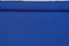 Blau mit glänzenden Stipsen