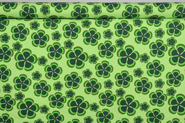 Kleeblätter, grafisch, grün