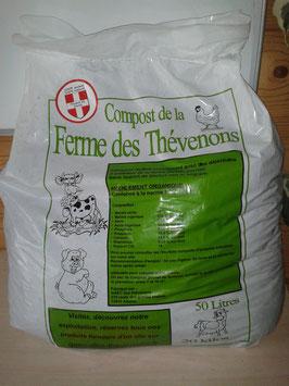 Sac de 20 à 22 kg de compost (50 litres)