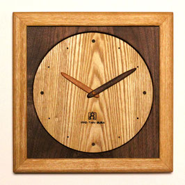 掛け時計(ウォールナット)