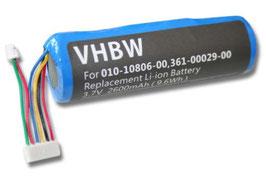 Batterie pour Garmin collier 3400 maH DC40 DC30