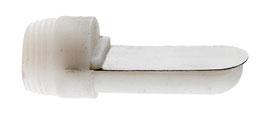 Pipet plastique à visser grande taille