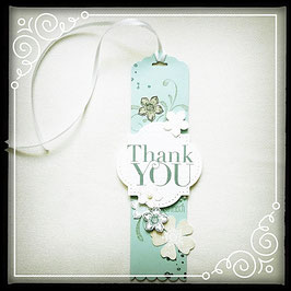 "Etikette ""Thank you"" No. 1"