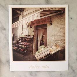 """Fotokarte """"dolce vita"""""""