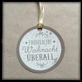 """10 Etiketten """"Weihnachten überall"""""""