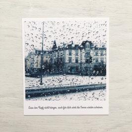 """Fotokarte """"Rain"""""""