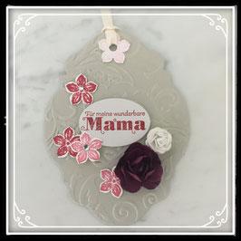 """Etikette """"Für meine wunderbare Mamma"""""""