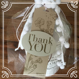 "Etikette ""Thank you"" No. 2"
