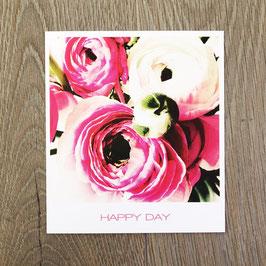 "Fotokarte ""pink Day"""