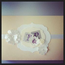 """Kuvert """"Wedding"""""""