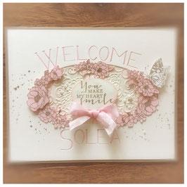 """Karte """"WELCOME"""""""