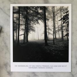 """Fotokarte """"Erinnerung"""""""
