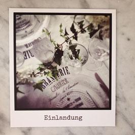 "Fotokarte ""Einladung""No.2"