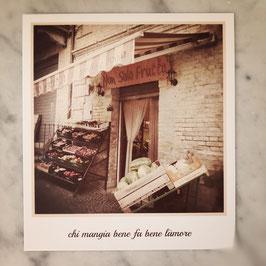 "Fotokarte ""L'amore"""