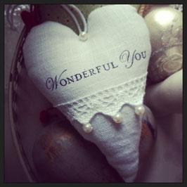"""Stoffherz """"Wonderful You"""""""