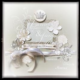 "Karte ""Wedding"" No. 1"