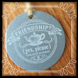 "Etikette ""FRIENDSHIP yes please"" No. 2"