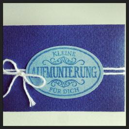 """Kleines Kuvert """"Kleine Aufmunterung"""" No. 4"""