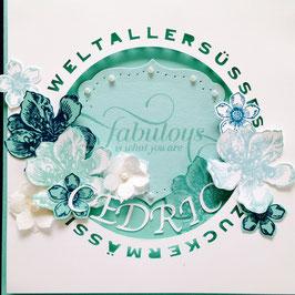 "Karte ""Fabulous Baby"" No. 2"