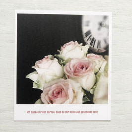 "Fotokarte ""Ich danke dir"""