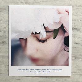 """Fotokarte """"Träume"""""""