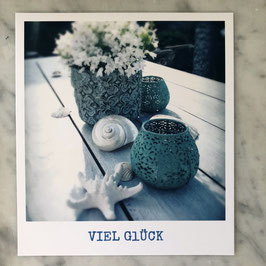 """Fotokarte """"Viel Glück"""""""