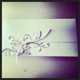 "Kuvert ""Blumenranke"""