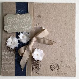 """Karte """"Happy Birthday"""" No. 2"""