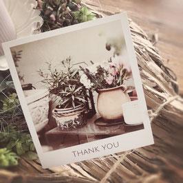 """Fotokarte """"THANK YOU"""""""