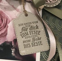 """Etikette """"Für dich"""""""
