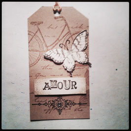 "Etikette ""Amour"""
