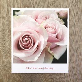 """Fotokarte """"Alles liebe zum Geburtstag!""""."""