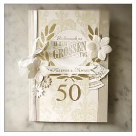 """Karte """"Goldene Hochzeit"""""""