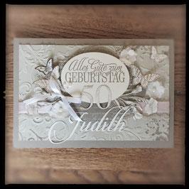"""Karte """"Alles Gute zum Geburtstag"""" mit Schmetterlingen"""