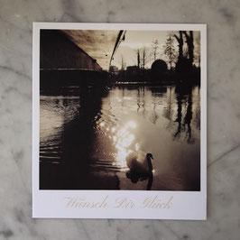 """Fotokarte """"Wünsch Dir Glück"""""""