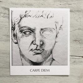 "Fotokarte ""Carpe Diem""Kopf"