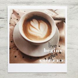 """Fotokarte """"Coffee"""""""