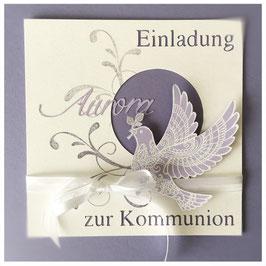 "Karte ""Kommunion"""