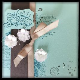 """Karte """"Happy Birthday"""" No.1"""