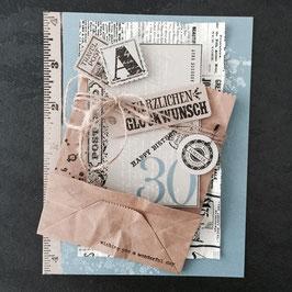 """Karte """"Glückwunsch Postcard"""""""