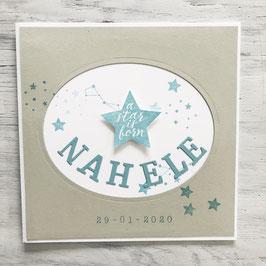 "Karte ""Star"""