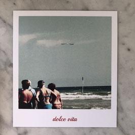 """Fotokarte """"dolce vita"""" mare"""