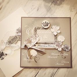 "Karte ""Wedding"" No. 2"