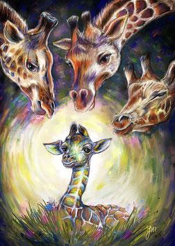 Giraffen (Lebensmut)