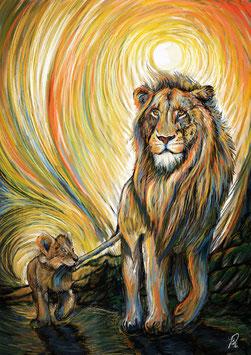 Löwen (Stärke und Sinnfindung)
