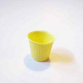 Espresso Cup mini - gestreift gelb